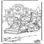 Personnages de bande dessinée - Cars 7