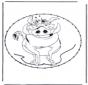 Carte à broder - personnages de BD 10