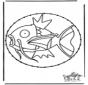 Carte à broder Pokémon