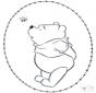 Carte à broder Winnie 2