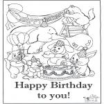Bricolage coloriages - Carte félicitations 6