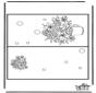 Carte fleurs