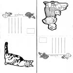 Bricolage coloriages - Cartes 1