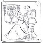 Personnages de bande dessinée - Cendrillon 1