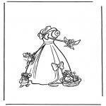 Personnages de bande dessinée - Cendrillon 2