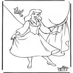 Personnages de bande dessinée - Cendrillon 8