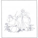 Personnages de bande dessinée - Cendrillon est ensorcelée