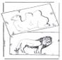 Chameau et lion