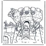 Coloriages faits divers - Château 1