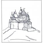 Personnages de bande dessinée - Château de Disney