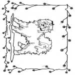Coloriages d'animaux - Chien 2