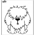 Coloriages d'animaux - Chien11
