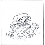 Personnages de bande dessinée - Chiot dalmatien