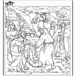 Coloriages Bible - Coloriage biblique - Jacob