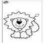 Colorie de Lion