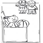 Coloriages pour enfants - Colorie les jouets 2