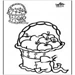 Bricolage coloriages - Copie le dessin 1