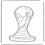 Coloriages faits divers - Coupe du monde
