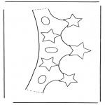 Bricolage coloriages - Couronne 2