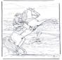 Cowboy à cheval