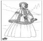 Dame du 19e siècle 1