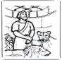 Daniel en fosse de lions 1