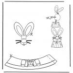 Coloriage thème - Décoration d'un oeuf de Pâques 2