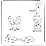 Coloriage thème - Décoration d'un oeuf de Pâques 4