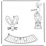 Coloriage thème - Décoration d'un oeuf de Pâques 6