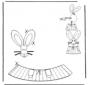 Décoration d'un oeuf de Pâques 6
