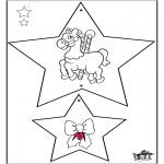 Coloriages Noël - Décorations de Noël 3