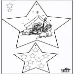 Coloriages Noël - Décorations de Noël - Bible 3