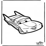 Bricolage coloriages - Découpage Cars