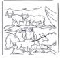 Des animaux dans l'arche