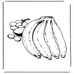 Coloriages faits divers - Des bananes