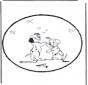 Dessin à piquer -  101 Dalmatiens 3