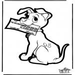 Bricolage cartes de piquer - Dessin à piquer -  101 Dalmatiens 4
