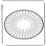 Bricolage cartes de piquer - Dessin à piquer 11