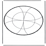 Bricolage cartes de piquer - Dessin à piquer 16