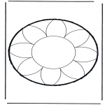 Bricolage cartes de piquer - Dessin à piquer 17
