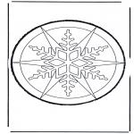 Bricolage cartes de piquer - Dessin à piquer 23