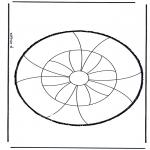 Bricolage cartes de piquer - Dessin à piquer 27