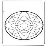 Bricolage cartes de piquer - Dessin à piquer 3