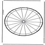 Bricolage cartes de piquer - Dessin à piquer 31