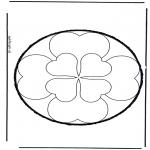 Bricolage cartes de piquer - Dessin à piquer 34