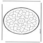 Bricolage cartes de piquer - Dessin à piquer 37