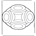 Bricolage cartes de piquer - Dessin à piquer 45