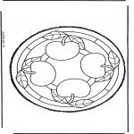 Bricolage cartes de piquer - Dessin à piquer 47