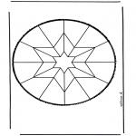 Bricolage cartes de piquer - Dessin à piquer 48