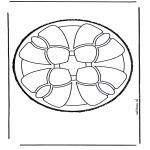 Bricolage cartes de piquer - Dessin à piquer 49